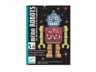 Robotok, Djeco kooperációs memória kártyajáték - 5097 (5-12 év)