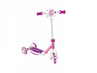 Roller 3 kerekű rózsaszín, mozgásfejlesztő sport játék