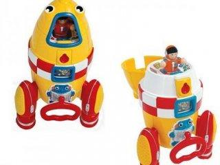 Ronnie, a rakéta (Wow Toys, játék űrhajó, 1-5 év)