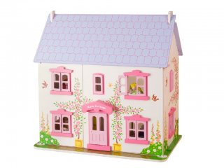 Rose házikója, babaház (Bigjigs, fa szerepjáték, 3-7 év)