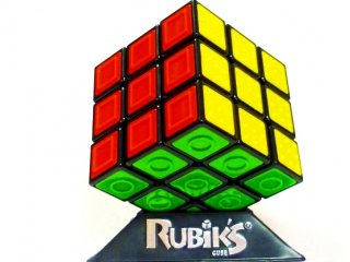 Rubik 3x3x3 kocka gyengénlátóknak (Rubik, hexa dobozos, logikai kirakó-, és kockajáték, 6-99 év)