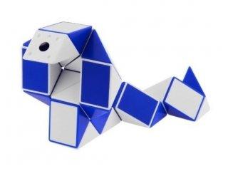 Rubik Twist, kék-fehér (Rubik, logikai-, és kirakójáték, 8-99 év)