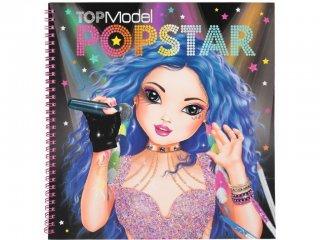 Ruhatervező készlet, Popsztár (TM, kreatív füzet lányoknak, 6-12 év)