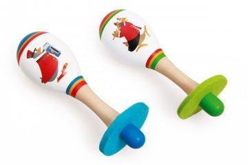 Rumbatök, fa játékhangszer (SC, 1-7 év)