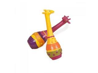 Rumbatök, Zsiráfos (B.Toys, 2 db-os gyerekjáték, 1-5 év)