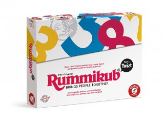 Rummikub, Twist (Piatnik, logikai, családi társasjáték, 8-99 év)