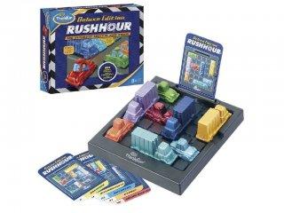 Rush Hour Deluxe Edition (Thinkfun, 60 feladvánnyal, egyszemélyes autós logikai játék, 8-99 év)