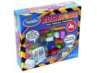 Rush Hour Junior, Csúcsforgalom Kisebbeknek! (Thinkfun, egyszemélyes autós logikai játék, 5-12 év)