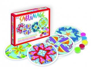 Sablimage homokszóró készlet, Mandala állatok (SentoSphére, kreatív készlet, 4-12 év)
