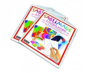 Sablimage pótlapok (SentoSphére, kiegészítő a sablimage kreatív homokszóró készleteihez, 4-12 év)