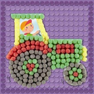 Sablonkártyák, Járműves (Playmais, kreatív sablonok kicsiknek, 3-6 év)