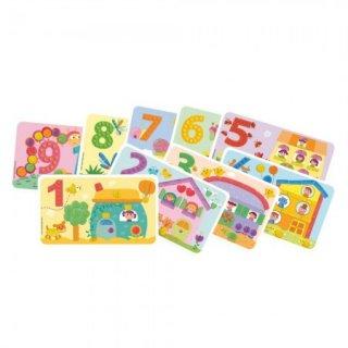 Sablonkártyák, Számoljunk! (Playmais, kreatív sablonok kicsiknek, 3-6 év)