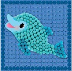 Sablonkártyák, Tengeri élővilág (Playmais, kreatív sablonok kicsiknek, 3-6 év)