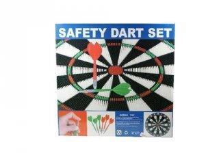 Safety 42 cm-es darts tábla nyilakkal, ügyességi játék (6-99 év)