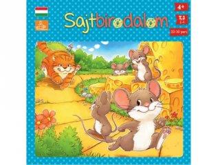Sajtbirodalom (taktikai társasjáték gyerekeknek, 4-8 év)