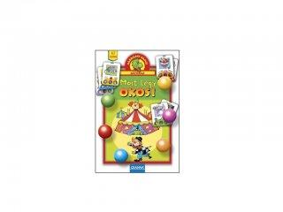 Sárkány Samu játékai, Most légy okos! (Granna, logikai társasjáték gyermekeknek, 3-7 év)