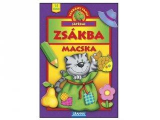 Sárkány Samu játékai, Zsákbamacska (Granna, tapintós játék, 3-8 év)