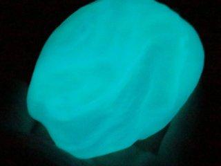 Sarki fények, világító gyurma (Kreatív kézügyesség fejlesztő, kéken világít, 3-99 év)
