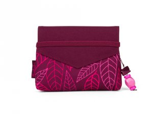 Satch Clutch kézitáska, Purple Leaves (10-99 év)