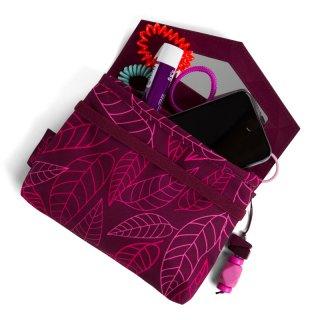 Satch Clutch kézitáska, Purple Leaves (10-99 év)