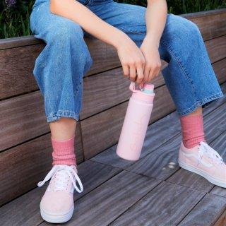 Satch Inox ivókulacs, rózsaszín (SAT-EBO-001-465, 6-99 év)