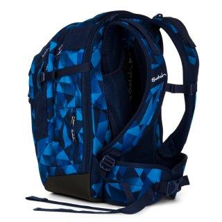 Satch Match ergonómikus hátizsák, Blue Crush (10-99 év)