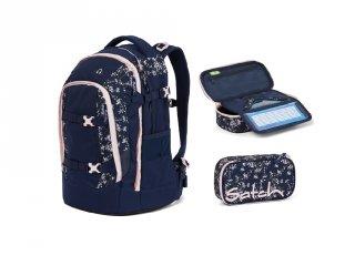 Satch Pack 2 részes, ergonómikus hátizsák szett felsősöknek, BloomyBreeze (10-99 év)