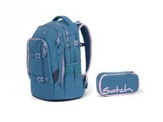Satch Pack 2 részes, ergonómikus hátizsák szett felsősöknek, Deep Rose (10-99 év)