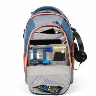 Satch Pack ergonómikus hátizsák, Black Bounce (10-99 év)