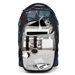 Satch Pack ergonómikus hátizsák felsősöknek, Deep Dimension (SAT-SIN-001-9BG, 10-99 év)