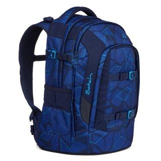 Satch Pack ergonómikus hátizsák felsősöknek, Next Level (SAT-SIN-001-9BS, 10-99 év)