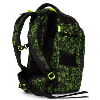 Satch Pack ergonómikus hátizsák, Green Bermuda (10-99 év)