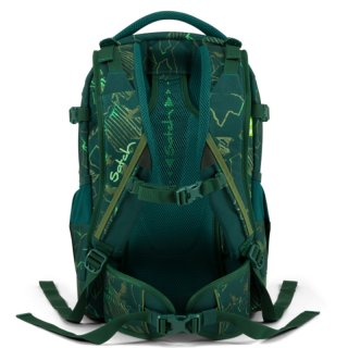 Satch Pack ergonómikus hátizsák, Green Compass (10-99 év)