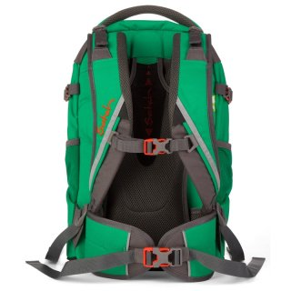 Satch Pack ergonómikus hátizsák, Green Steel (10-99 év)