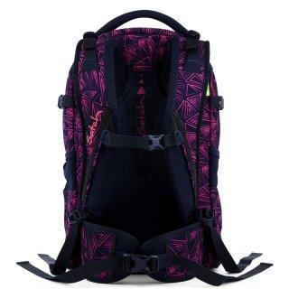Satch Pack ergonómikus hátizsák, Pink Bermuda (10-99 év)