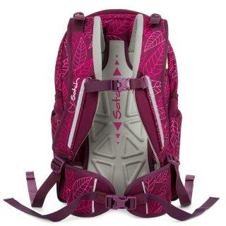 Satch Sleek ergonómikus hátizsák, Purple Leaves (10-99 év)