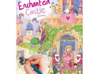 Satírozós füzet, Elvarázsolt kastély (Scribble down, enchanted castle, kreatív képalkotó játék, 3-10 év)