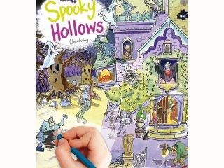 Satírozós füzet, Kísértetkastély (Scribble Down, Spooky Hollows, kreatív képalkotó játék, 3-10 év)