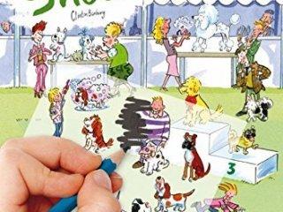 Satírozós füzet, Kutya show (Scribble Down, Dog Show, kreatív képalkotó játék, 3-10 év)
