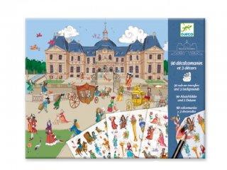 Satírozós kép, Vaux-le-Vicomte (Djeco, 9565, kreatív játék, 4-8 év)