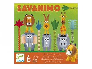Savanimo, állatos Geistesblitz (Djeco, 8403, megfigyelős, gyorsasági társasjáték, 5-10 év)