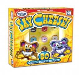 Say Cheese, Mondd: Sajt! (Popular, egyszemélyes, átforgatós, logikai játék, 8-99 év)