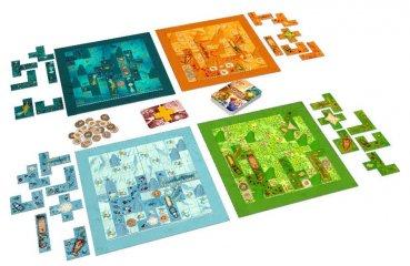 Scarabya, családi stratégiai társasjáték (8-99 év)