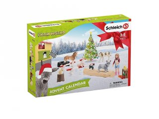 Schleich Farm World állatos Adventi naptár