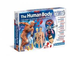 Science&Play Az emberi test, tudományos játék (CLEM, 9-14 év)