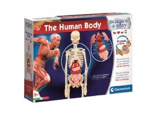 Science&Play Az emberi test, tudományos játék készlet (CLEM, 9-14 év)