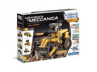 Science&Play Mechanikus labor buldózer, 10 az 1-ben tudományos építőjáték (50317CLEM, 8-14 év)