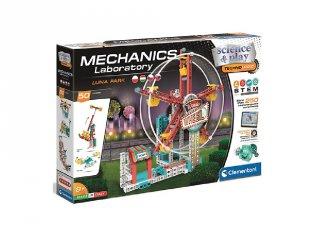 Science&Play Mechanikus labor luna park, 250 db-os tudományos építőjáték (CLEM, 8-14 év)