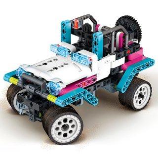 Science&Play Mechanikus labor szafari park, 200 db-os tudományos építőjáték (CLEM, 8-14 év)