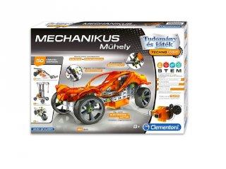 Science&Play Mechanikus műhely, 250 db-os tudományos építőjáték (CLEM, 8-14 év)